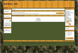 Testshop mit geänderter Shophintergrundfarbe und eingespieltem teiltransparentem Shophintergrund